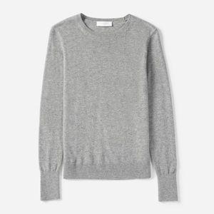 Everlane 100% Cashmere Crew Neck Sweater Grey M